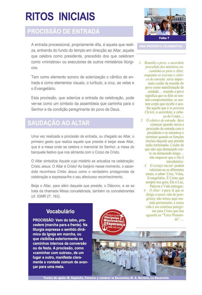 03_01_2020_FOLHA 7 - Eucaristia 1 MAR2020