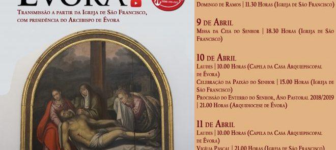 Reveja a Eucaristia de Domingo de Ramos presidida pelo Arcebispo de Évora