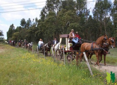 24 a 28 de Abril: XIX Romaria a Cavalo liga Moita a Viana do Alentejo