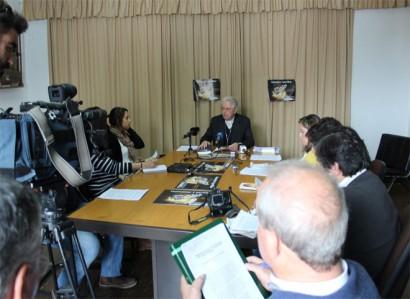 Conferência de imprensa com D. José Alves assinala o 51º Dia Mundial das Comunicações Sociais