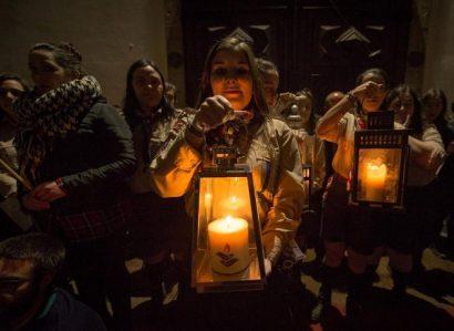 Sé de Évora recebe a Cerimónia Nacional de recepção e partilha da Luz da Paz de Belém
