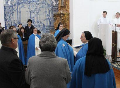 Profissão temporária de Soror Marta Maria do Amor Divino no Convento de Campo Maior