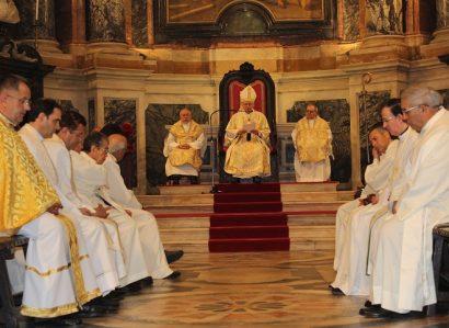 Homilia do Senhor Arcebispo de Évora na Missa Crismal celebrada na Sé de Évora