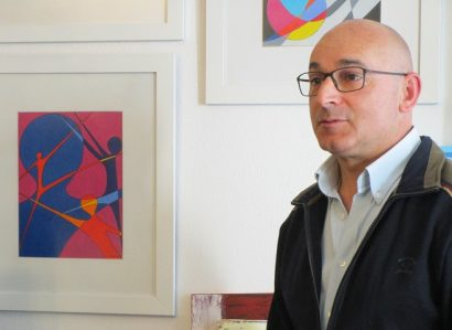 """PadreManuel José Marques apresenta exposição de pintura """"Reencontro e Silêncio"""" em Monsaraz"""