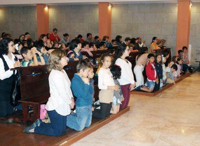 Encontro das crianças do 1º Ciclo da catequese das paróquias da cidade de Évora: