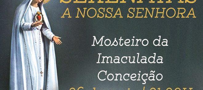Serenatas a Nossa Senhora no Mosteiro de Campo Maior