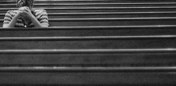 Passageiros da missa quotidiana