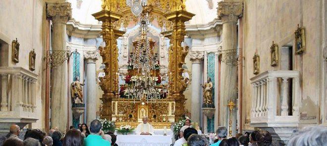 Santuário de Nossa Senhora de Aires em obras
