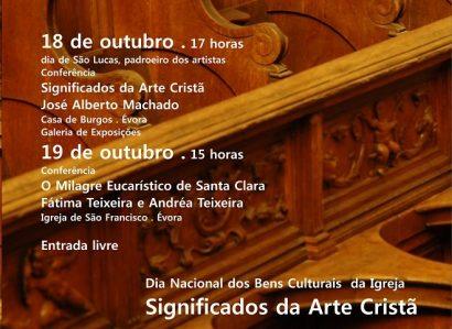 Dias 18 e 19 de Outubro em Évora: Conferências assinalam Dia dos Bens Culturais da Igreja