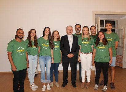 Novo espaço da Pastoral Universitária em Évora: Casarão em destaque no Ser Igreja – Programa já disponível