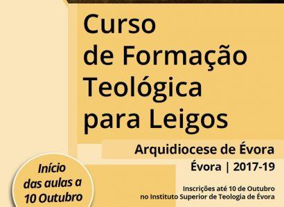10 de Outubro: Curso de Formação Teológica para Leigos começa em Évora