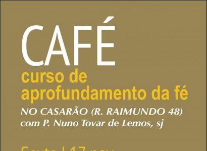 17 a 19 de Novembro: Casarão recebe o CAFÉ – Curso de Aprofundamento da Fé