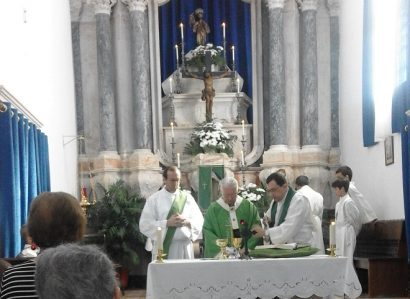 Eucaristia de Acção de Graças na Paróquia de Vila Boim