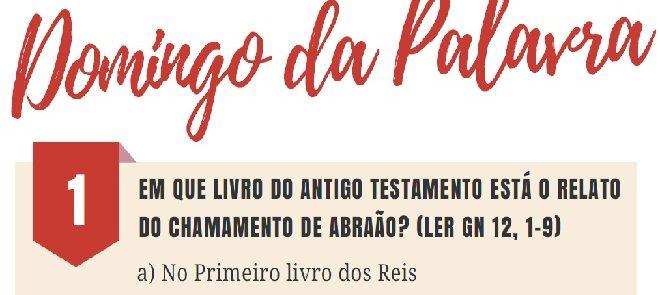 11 de Março: Arquidiocese de Évora celebra Domingo da Palavra