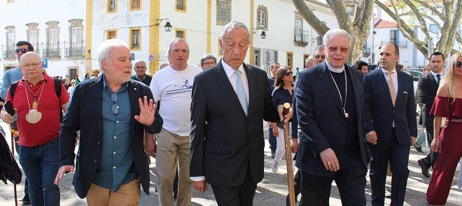 Caminho de Santiago: Presidente da República percorreu os primeiros quilómetros da Via Nascente, inaugurada esta sexta-feira em Évora