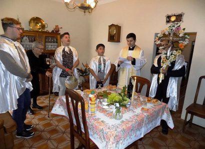 Paróquias do Concelho de Mora  acolhem com entusiasmo a Visita Pascal