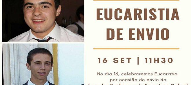16 de Setembro: Eucaristia de envio na Paróquia de N.ª Sr.ª de Fátima