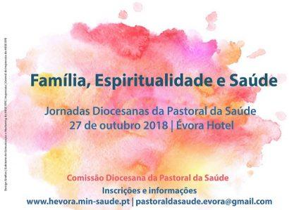 27 de Outubro: JORNADAS DIOCESANAS  DA PASTORAL DA SAÚDE