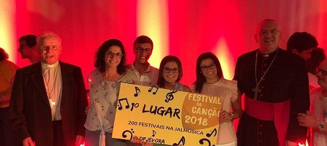 Pastoral Juvenil de Évora: (É)Mana vence Festival da Canção 2018