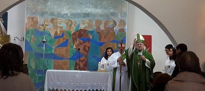 Arcebispo de Évora celebra Eucaristia dominical nos Canaviais