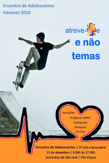 15 de Dezembro: Encontro Advento Adolescentes/Jovens em Vila Viçosa