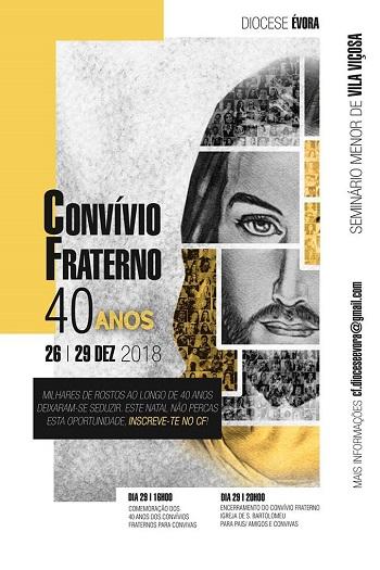 Convívios Fraternos | 26 a 29 Dezembro