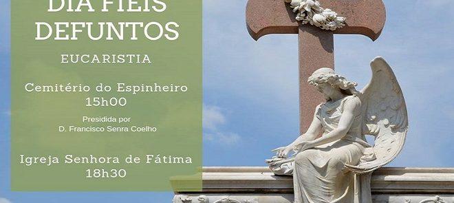 2 de Novembro: Dia de Fiéis Defuntos celebrado em Évora