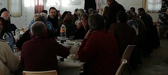 """Associação """"Pão e Paz"""" celebrou o Natal com meia centena de utentes"""