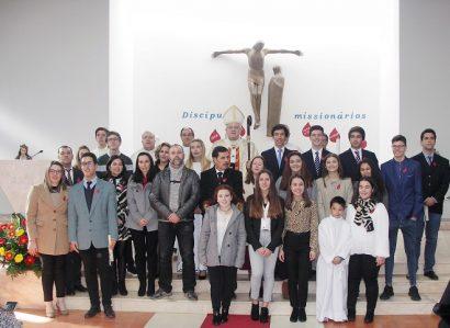 Sacramento da Confirmação administrado na Paróquia de Santa Luzia em Elvas