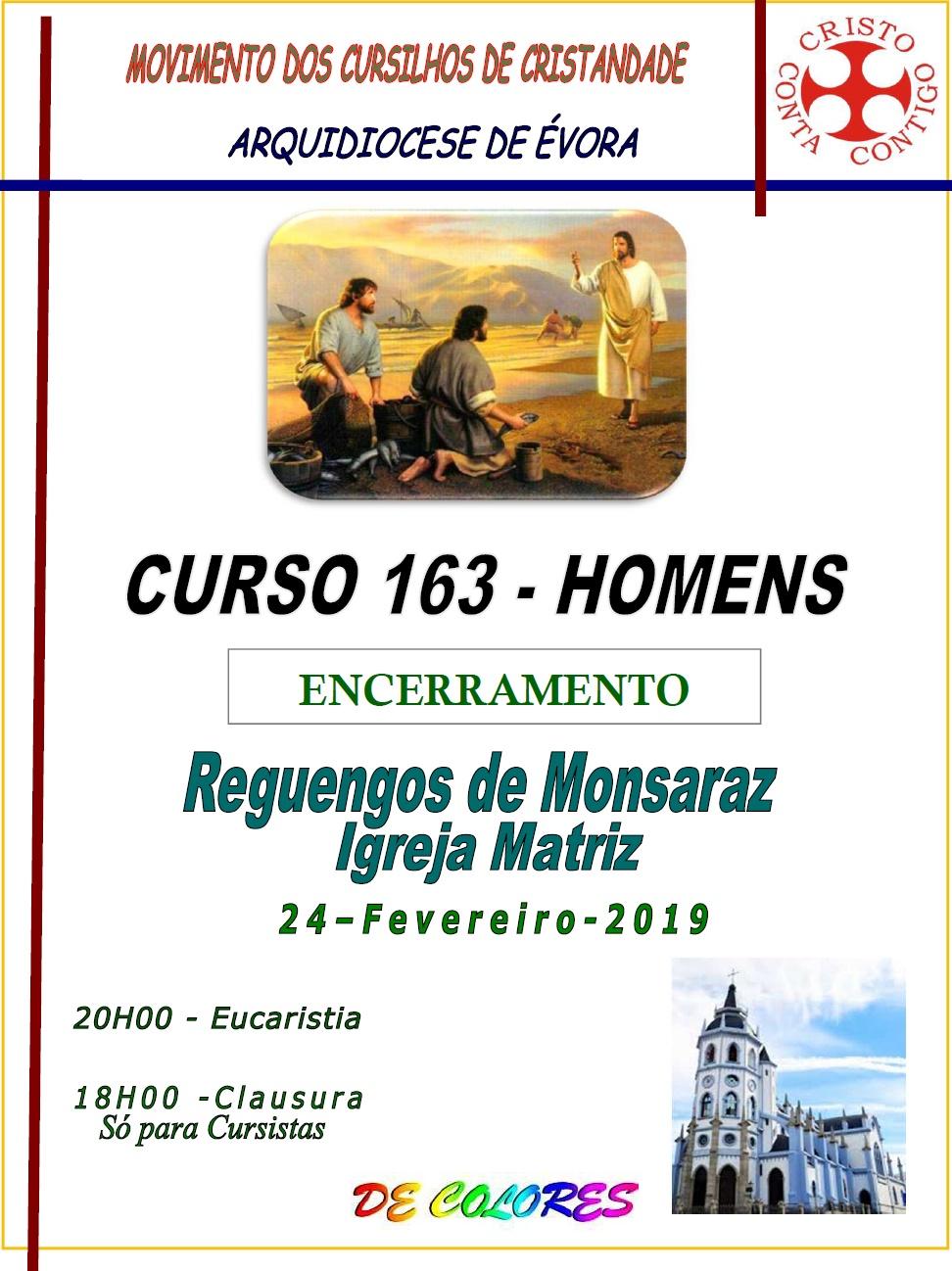 CURSILHOS DE CRISTANDADE - 163