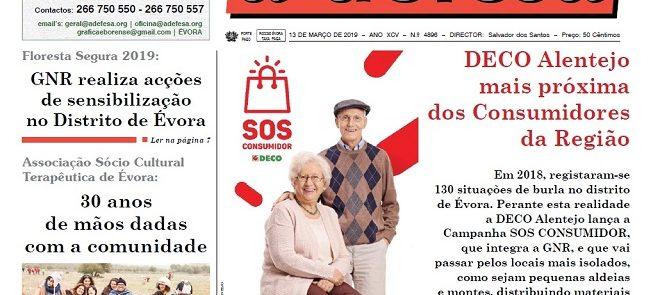 """Revista de Imprensa: Edição de 13 de Março do Semanário """"a defesa"""""""