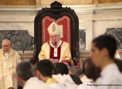 Quinta-feira Santa: Homilia da Missa Crismal proferida pelo Arcebispo de Évora