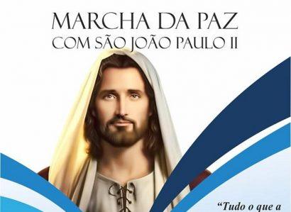 27 de Abril: «Marcha da Paz»  com São João Paulo II em Campo Maior