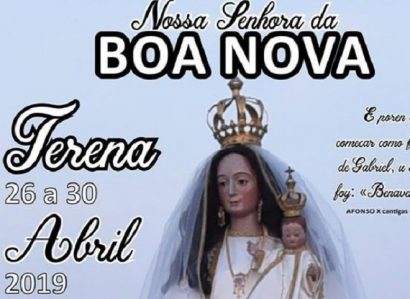 26 a 30 de Abril: Terena em festa  com romaria de N.ª Sr.ª da Boa Nova