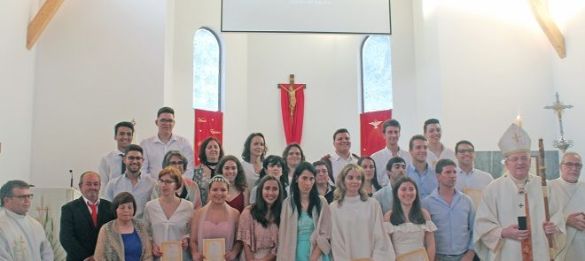 Arcebispo de Évora ministrou Crisma nas Paróquias de Lavre, Cortiçadas de Lavre e Foros de Vale Figueira