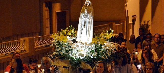 Maio de 2019: Reportagens Fotográficas de Procissões de Velas na Arquidiocese de Évora