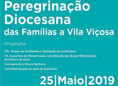 Peregrinação Diocesana das Famílias em destaque no Ser Igreja (19 de Maio) – Programa já disponível