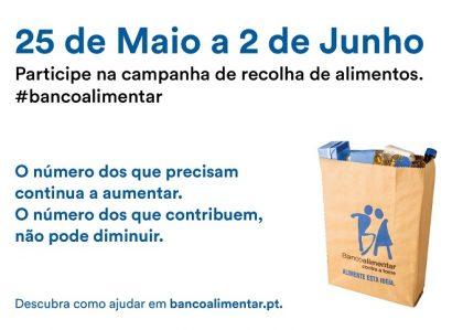 Campanha do Banco Alimentar em destaque no Ser Igreja de domingo (26 de Maio)