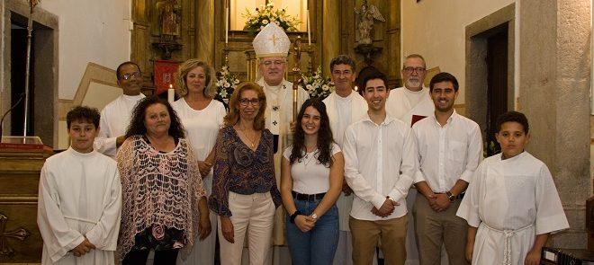 Sacramento da Confirmação na Paróquia de Santo Estêvão (Benavente)