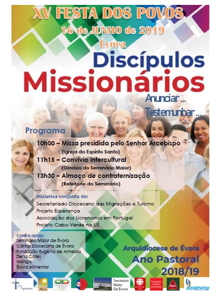 Festa dos Povos _ cartaz