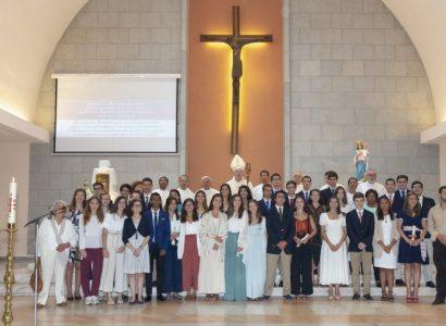 Crismas na Paróquia Nossa Senhora Auxiliadora – Évora