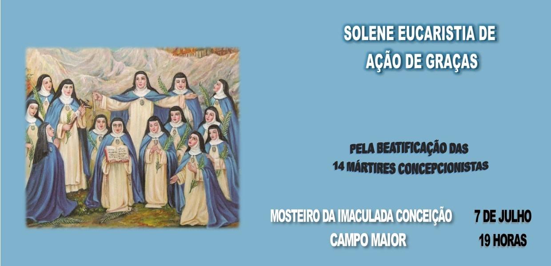 convite eucaristia martires