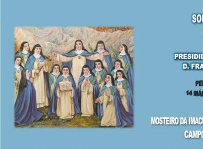 22 de Junho: Beatificação  das 14 Mártires  Concepcionistas