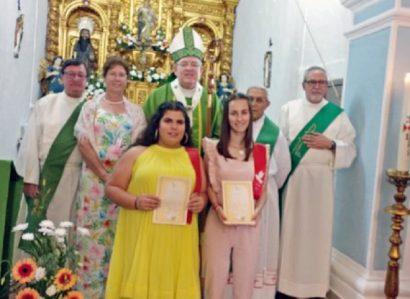 São Bartolomeu  do Outeiro: Arcebispo de Évora ministra  Sacramento da Confirmação