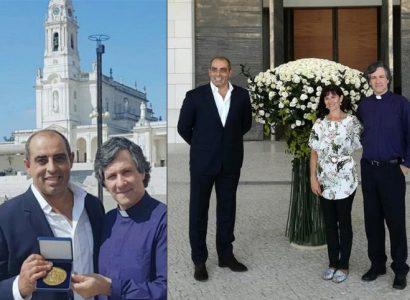Campo Maior: Ramo das 1000 rosas em papel foi entregue aos pés de Nossa Senhora de Fátima