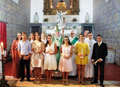 Torrão: Arcebispo de Évora ministra  Sacramento da Confirmação