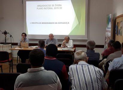 Discurso do Arcebispo de Évora na introdução da Assembleia do Clero