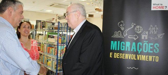 """EMRC/Évora: Inaugurada a Exposição Itinerante """"Migrações e Desenvolvimento"""" da Cáritas Portuguesa"""