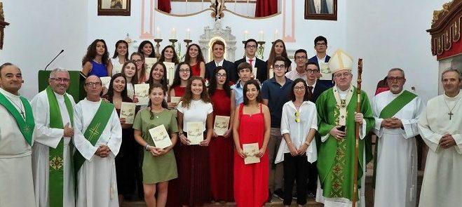 1 de Setembro: Festa do Crisma  na Terrugem congrega 22 jovens