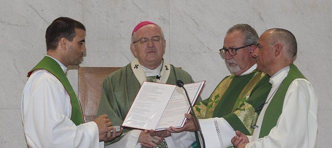Tomada de posse do Padre Manuel Vieira como Pároco de Nossa Senhora de Fátima